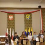 Laureaci podczas wreczania nagród