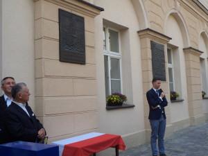 Przemawia Przewodniczący Rady Miasta Opola Marcin Ociepa