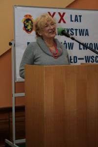 Irena Kalita opowiedziała o działalności opolskiego Oddziału TMLiKPW.