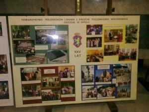 Tablo na 25 lecie Oddziału TMLiKPW w Opolu